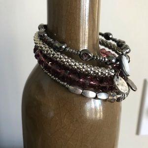 Boho Chic Beaded Wrap Bracelet